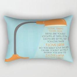 I Love Lamp - Anchor Man Rectangular Pillow