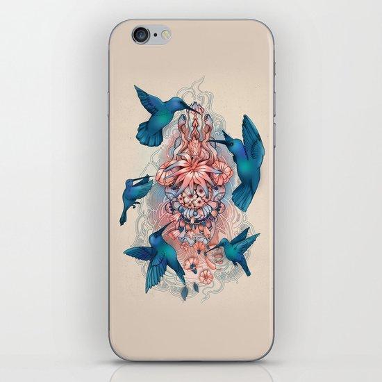 kolibri iPhone Skin