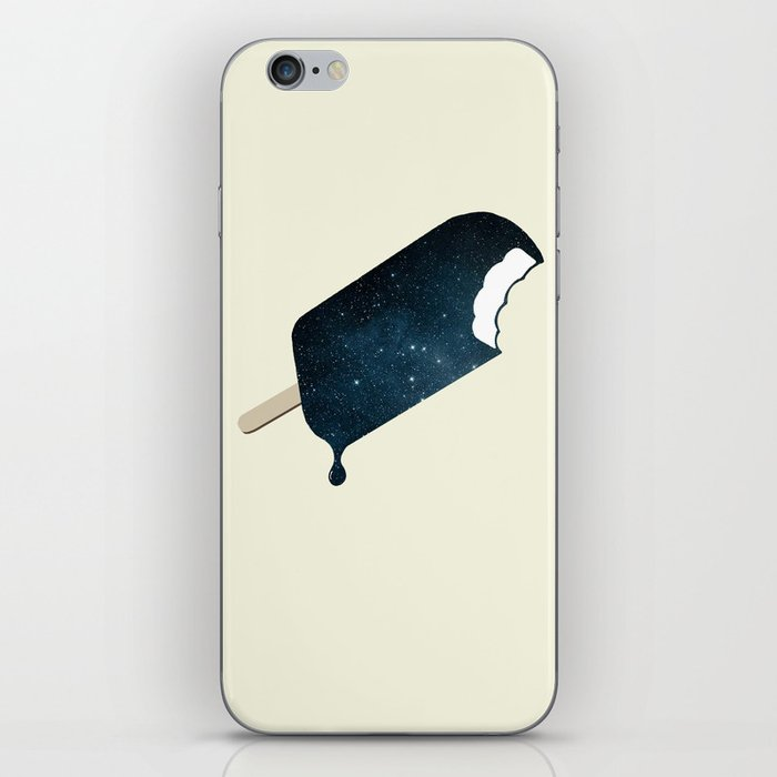 Space Melter iPhone Skin