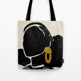 Black Hair No. 4 Tote Bag