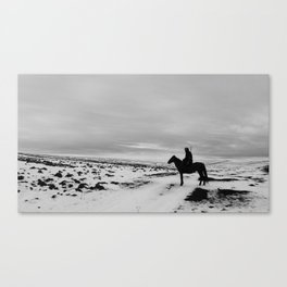 Old hunter Canvas Print