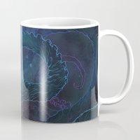 kraken Mugs featuring Kraken by Henri Scribner