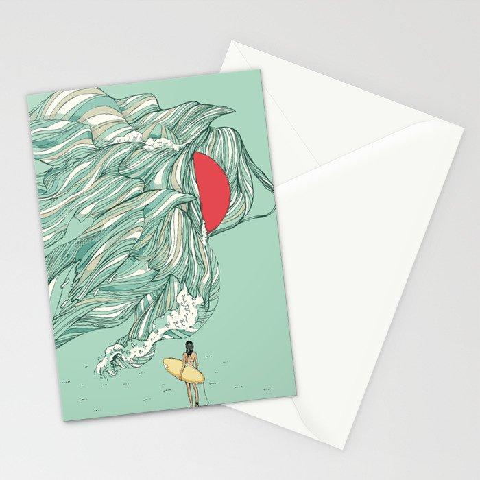 Ocean Summer Stationery Cards