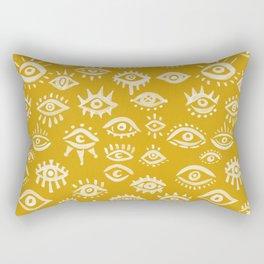Mystic Eyes – Marigold Palette Rectangular Pillow