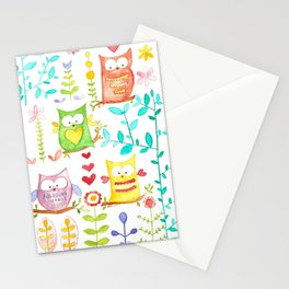 happy owl day Stationery Cards