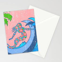 Girls Surf 2 Stationery Cards