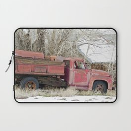 red truck Laptop Sleeve