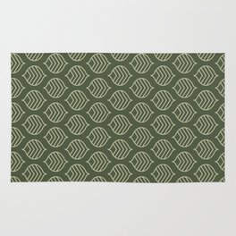Olive Scales Rug