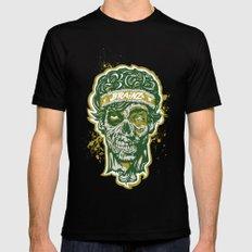 Brainz Zombie Print Mens Fitted Tee MEDIUM Black