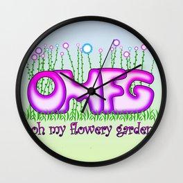 OMFG Wall Clock