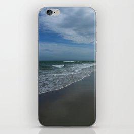 Serene Beach Scene iPhone Skin