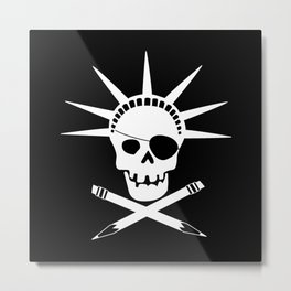 Pirates of Brooklyn Metal Print