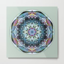 Mandalas from the Heart of Truth 2 Metal Print