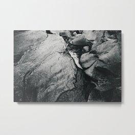 Waters of the Merced Metal Print