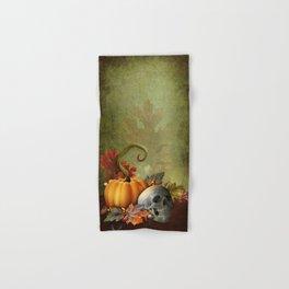 Halloween Skull Hand & Bath Towel