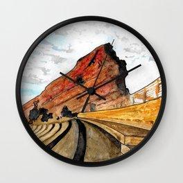 Red Rocks 2016 Wall Clock