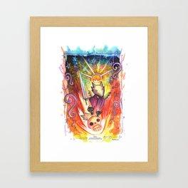 Year of the Dog: Saint Lycan Framed Art Print