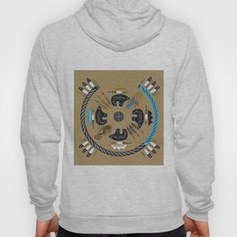 American Native Pattern No. 114 Hoody