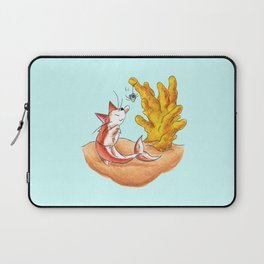 Coral Cat Tree Laptop Sleeve