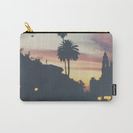 Sunset in Balboa Park print Carry-All Pouch