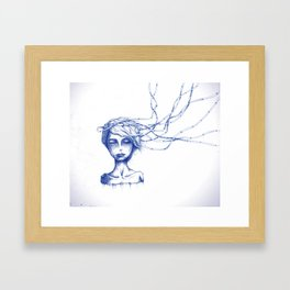 WILL THE SUMMER MAKE GOOD FOR ALL OUR SINS. Framed Art Print