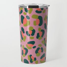 Pink Leopard Travel Mug