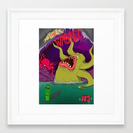 The Wasted  Framed Art Print