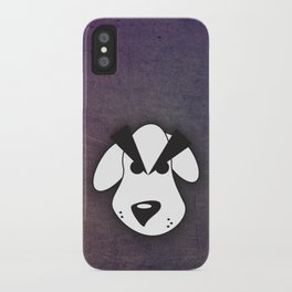 Peeved Pup iPhone Case