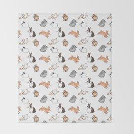 bunnies Throw Blanket