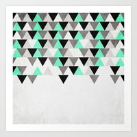 IceFall Art Print