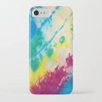 tie dye iPhone & iPod Cases featuring Tie Dye by Kait & Court