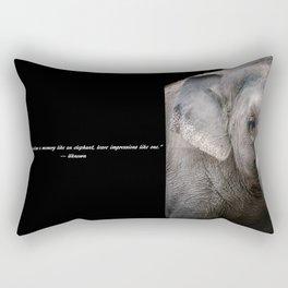 Elephant Eye Spy Rectangular Pillow