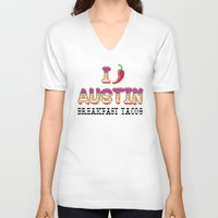 chile V-neck T-shirts featuring I chile Austin by Black Oak ATX