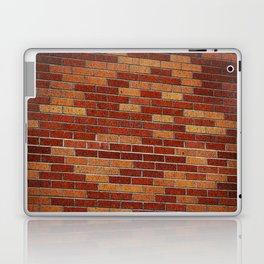 Brick Wall Rorschach Laptop & iPad Skin