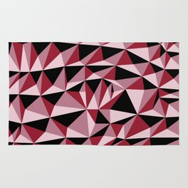 Geometric Pyramids Rug