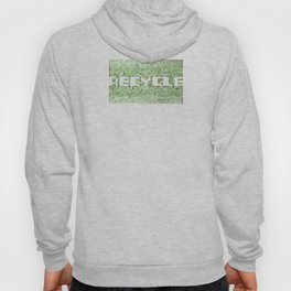 Recycle watercolor mosaic Hoody