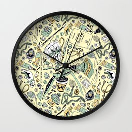 Found Objects 2 Wall Clock