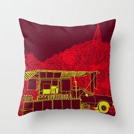 Caldo de Cana Throw Pillow