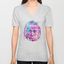 Artistic LXX - Albert Einstein Unisex V-Neck