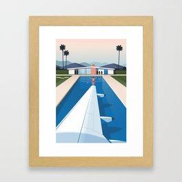 Jetting Away Framed Art Print