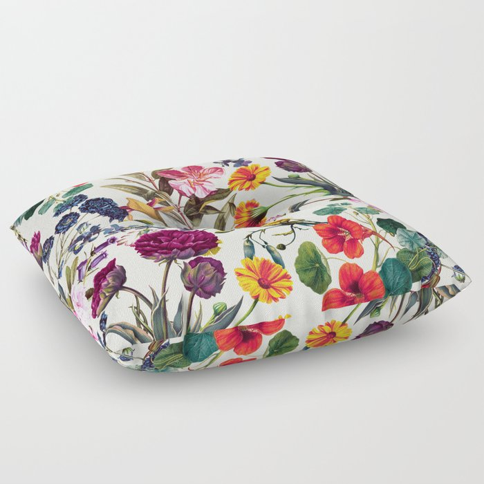 Magical Garden V Floor Pillow
