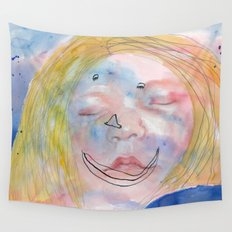 I feel tired Wall Tapestry