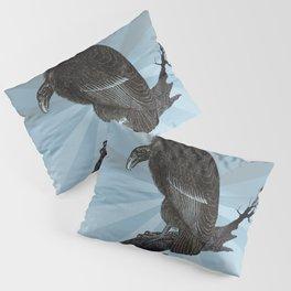 Old World Vulture Pillow Sham