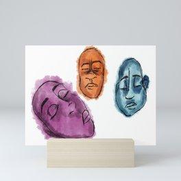 Sleeping Stones Mini Art Print