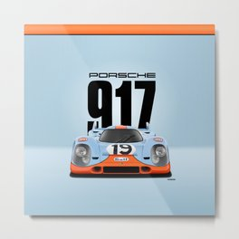 917-026 (031) - Front-View Metal Print
