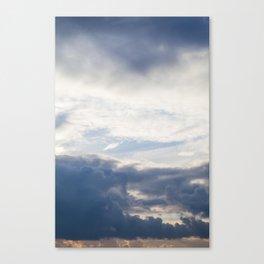 Sky 01/20/2014 17:13 Canvas Print
