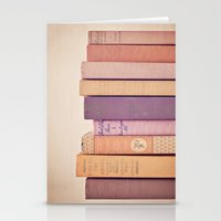 literary Stationery Cards featuring Literary Gems II by Laura Ruth