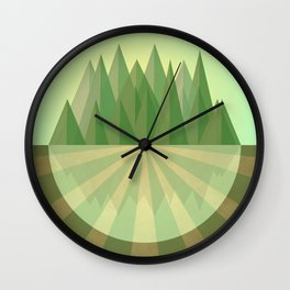 Reach your goals Wall Clock