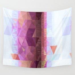 Lavender Purple Abstract Geometric Triangle Polyglen Wallart Illustration Wall Tapestry