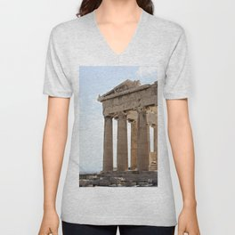 Parthenon. Unisex V-Neck